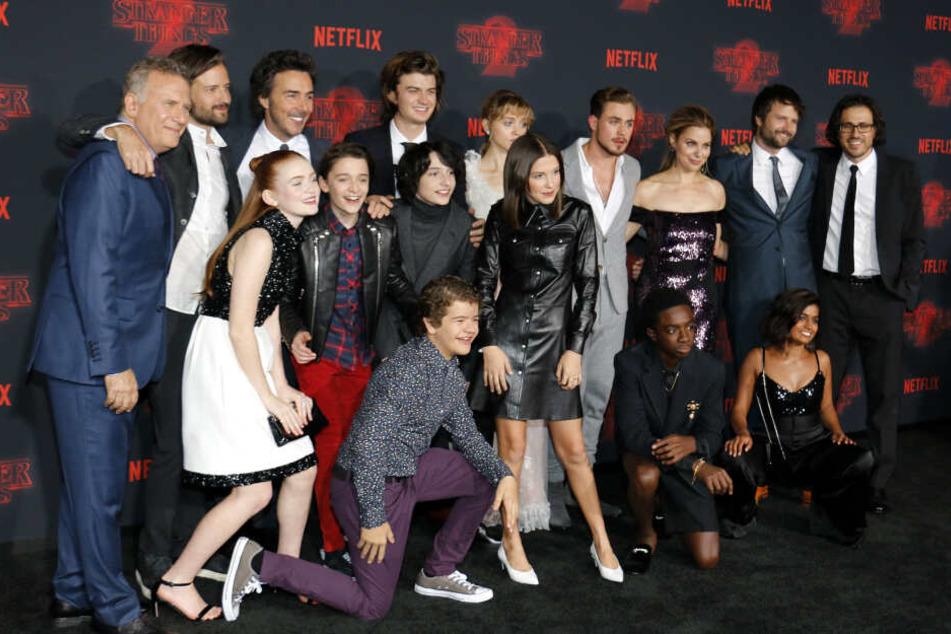 Wer von Ihnen wird in Stranger Things 4 wohl wieder dabei sein?