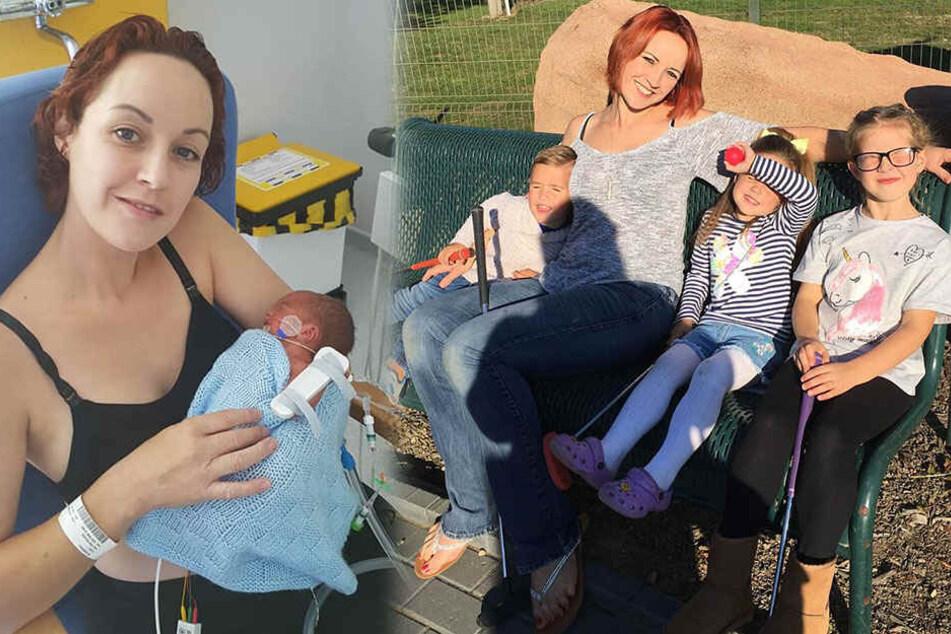 Frau verliert Tage nach der Geburt ihr Kind, dann kommt es noch tragischer
