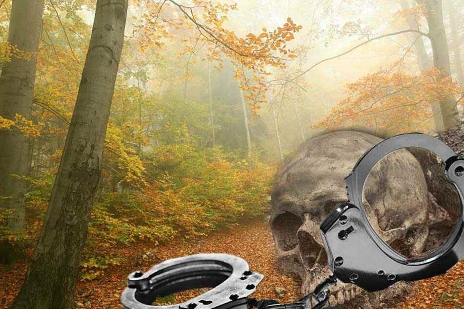 Tödliches Sex-Spiel? Wanderer finden an Baum gefesseltes Skelett