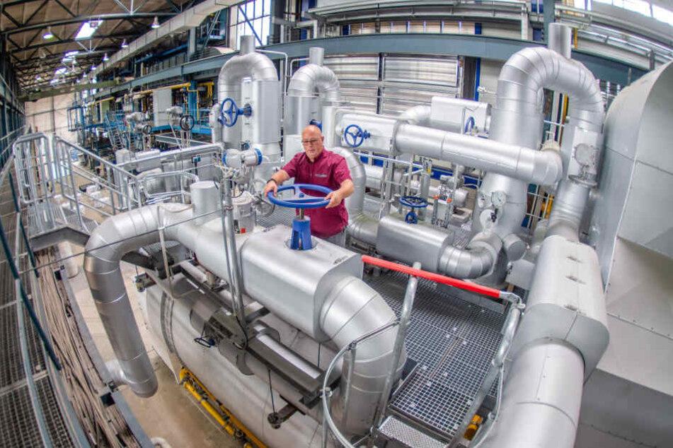 Große Investition: Diese Mega-Kessel machen Chemnitz fit für den Winter