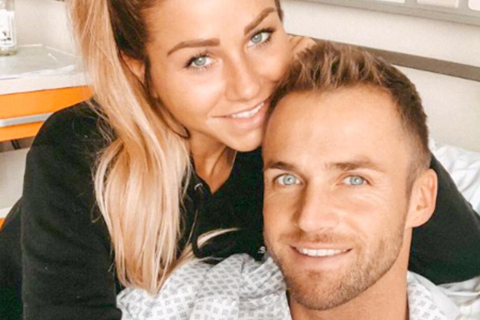 Philipp Stehler (30) mit seiner Freundin Antonia Elena (25).