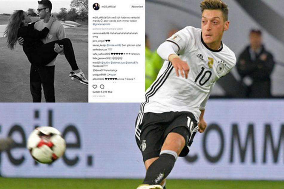 """""""Mandy, ich werde dich immer lieben!"""" Großer Wirbel um Mesut Özils Insta-Post"""