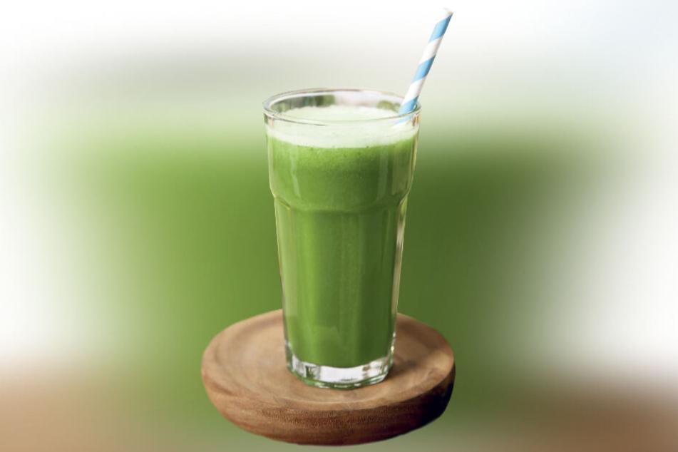 Ein Grünkohl-Smoothie ist nicht nur lecker, sondern auch gesund.