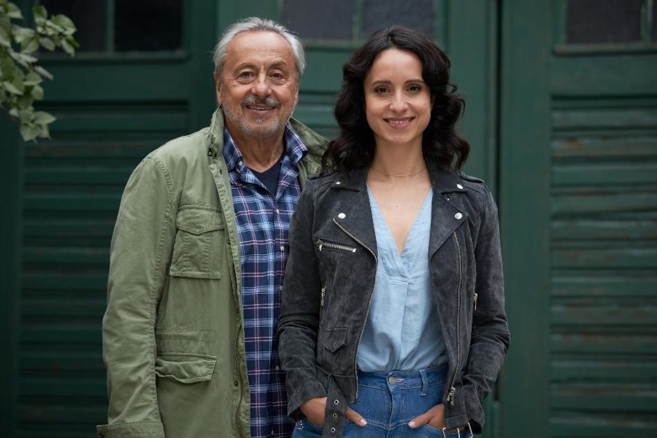 """Am kommenden Samstag sind Wolfgang und Stephanie Stumph in der neuen Folge """"Stubbe – Tödliche Hilfe"""" als Vater Wilfried Stubbe und Tochter Christiane zu sehen."""