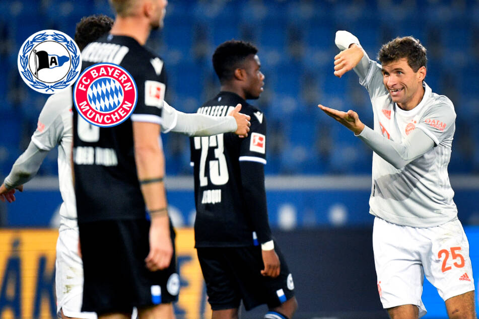 FC Bayern zeigt Bielefeld dank Lewandowski und Müller klar die Grenzen auf!