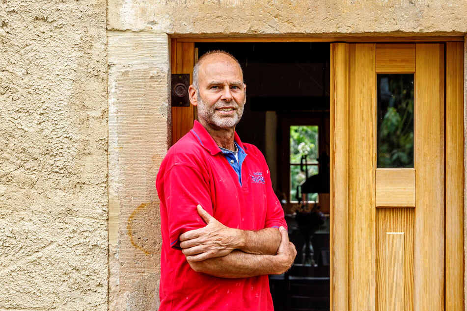 Hereinspaziert! Am heutigen Samstag öffnet Bauherr und Bewohner Bill Quaas (61) die Türen für Besucher.