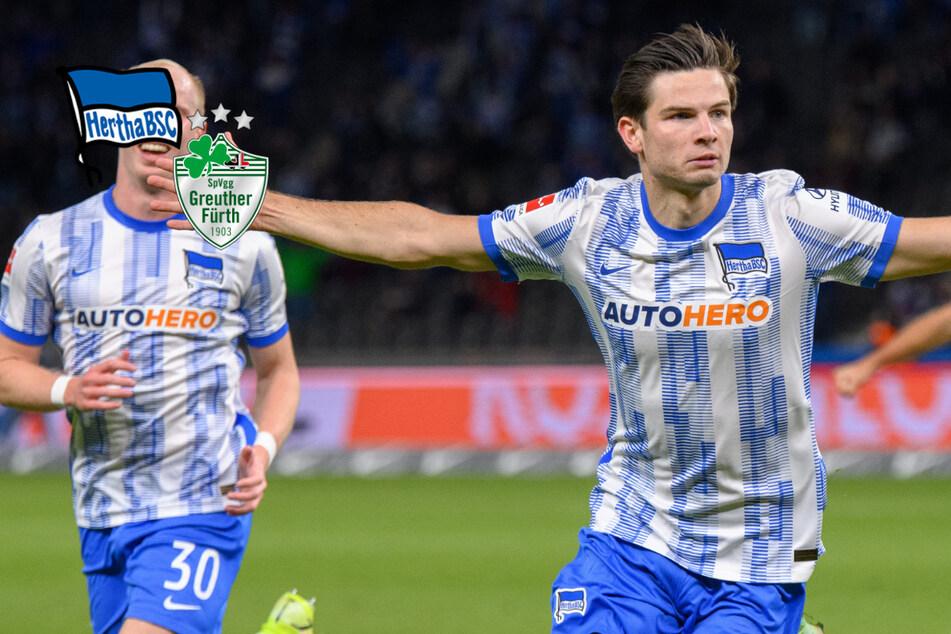 Abwehr-Sorgen immer schlimmer: Hertha schlägt Fürth dank Super-Joker Ekkelenkamp!