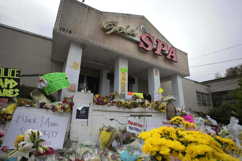 The Gold Spa was one of three locations hit by the shooter.