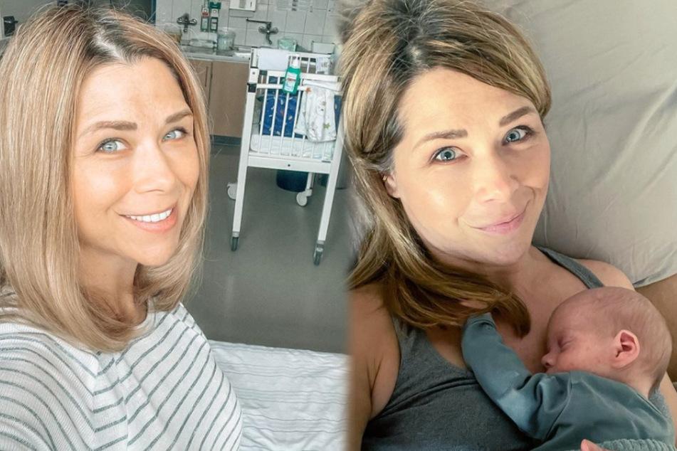 Baby hat rote Punkte: Mama Tanja Szewczenko erklärt die Ursache