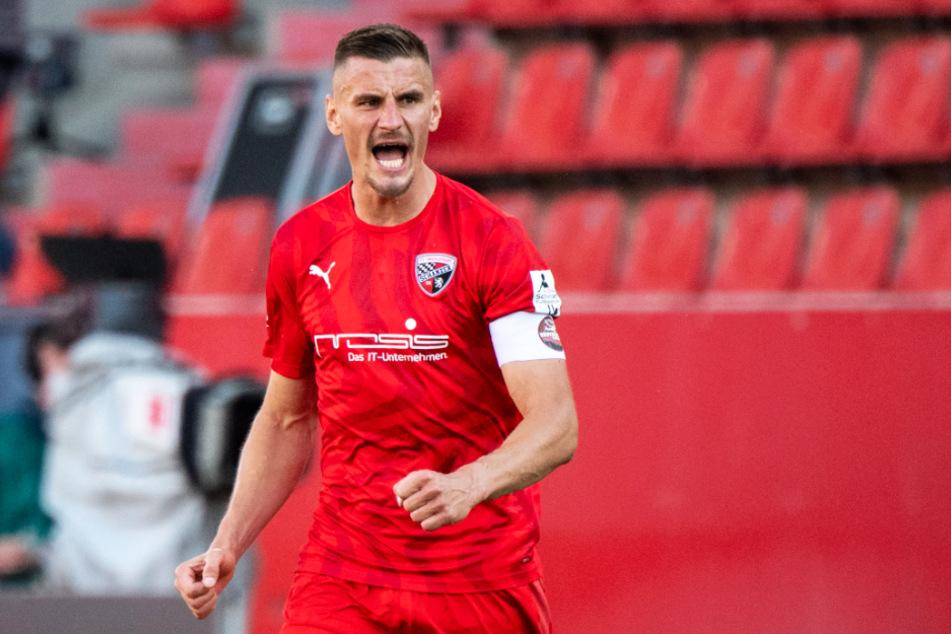 Stefan Kutschke löste die mentale Blockade des FC Ingolstadt 04 mit seinem wichtigen Führungstreffer zum 1:0.