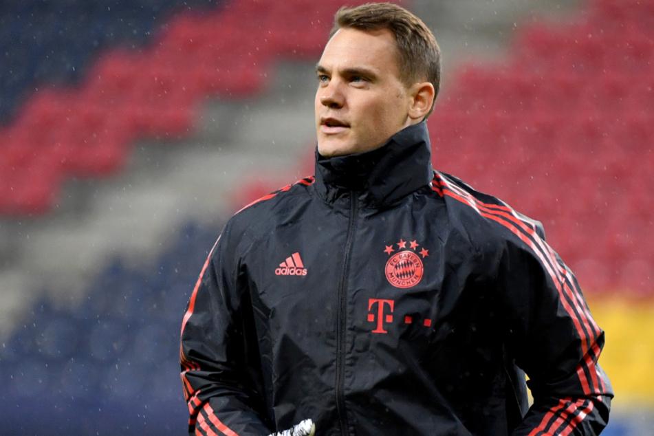 Manuel Neuer (34) vom FC Bayern München glaubt an seinen Teamkollegen Joshua Kimmich (25) und dessen unbändigen Willen.