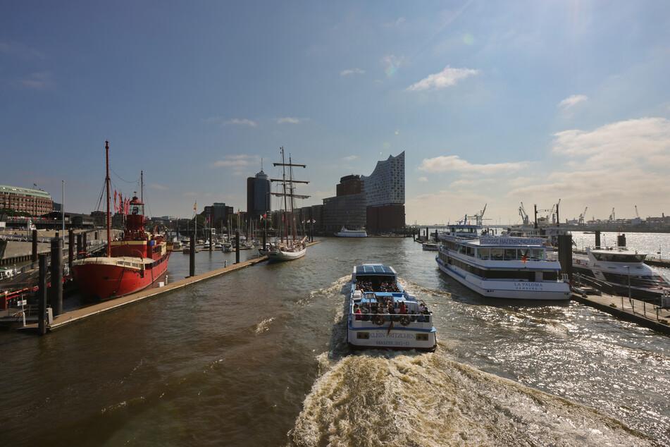 Der Hamburger Hafen ist das bundesweit erste Testfeld für ein Drohnen-Verkehrssystem in Deutschland.