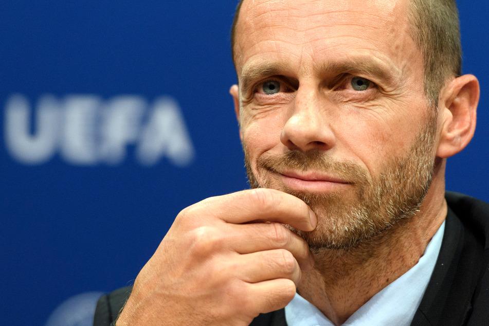 UEFA-Chef Aleksander Ceferin (53).