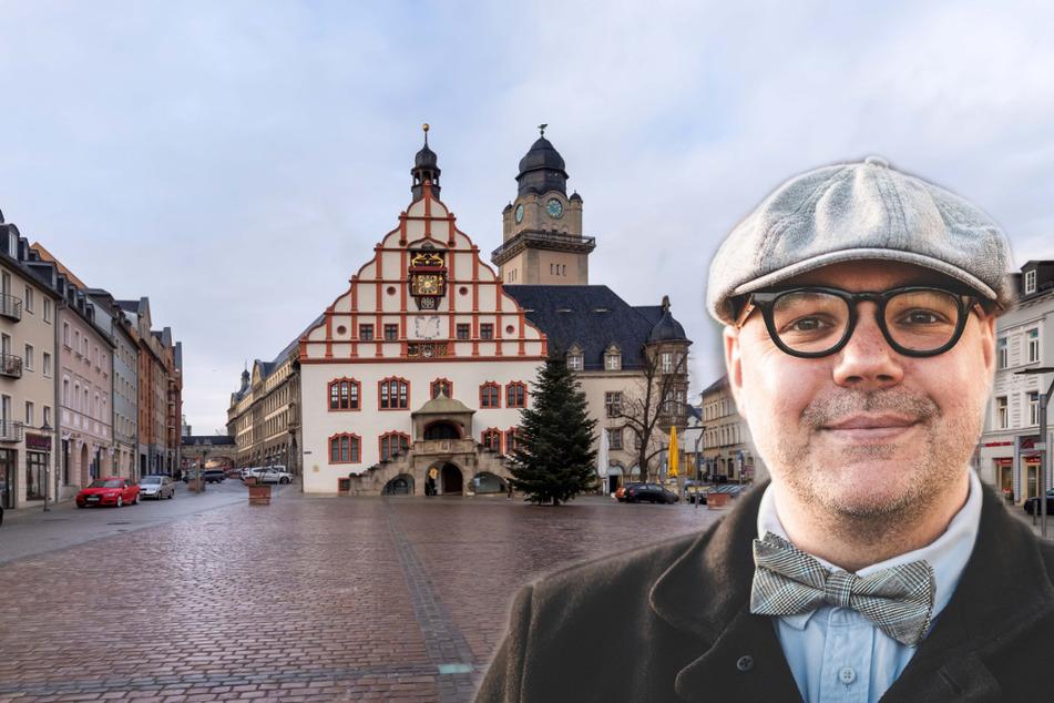 Facebook-Star aus Plauen will als Oberbürgermeister das Rathaus erobern