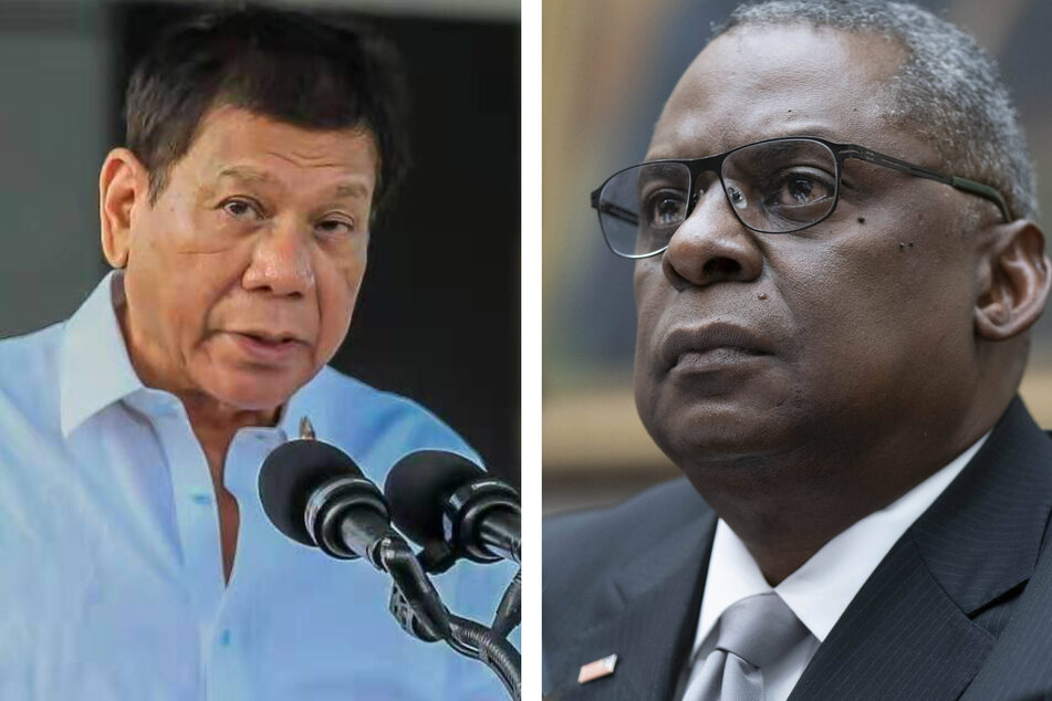 Philippine leader recalls termination of key pact after visit from US defense secretary