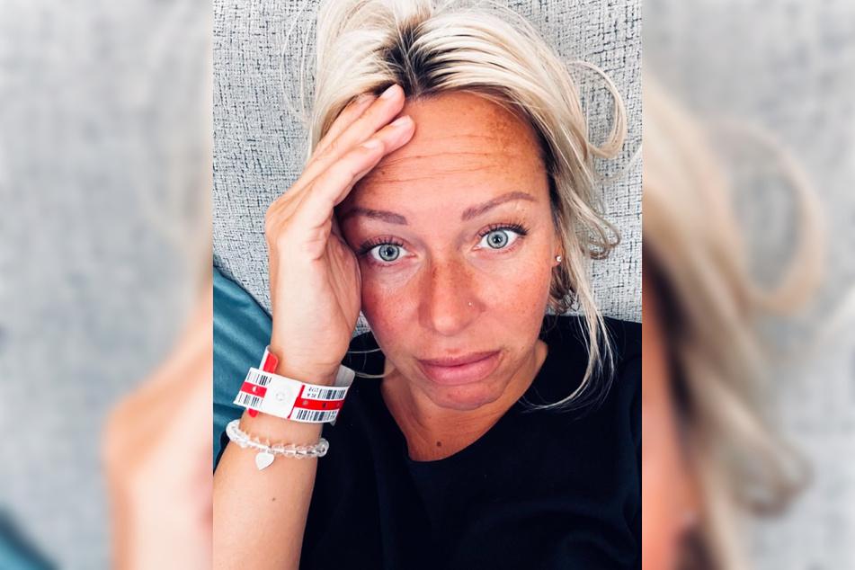 Die krebskranke Influencerin Julia Holz (35) hat am Dienstag mit ihrer Chemotherapie begonnen.
