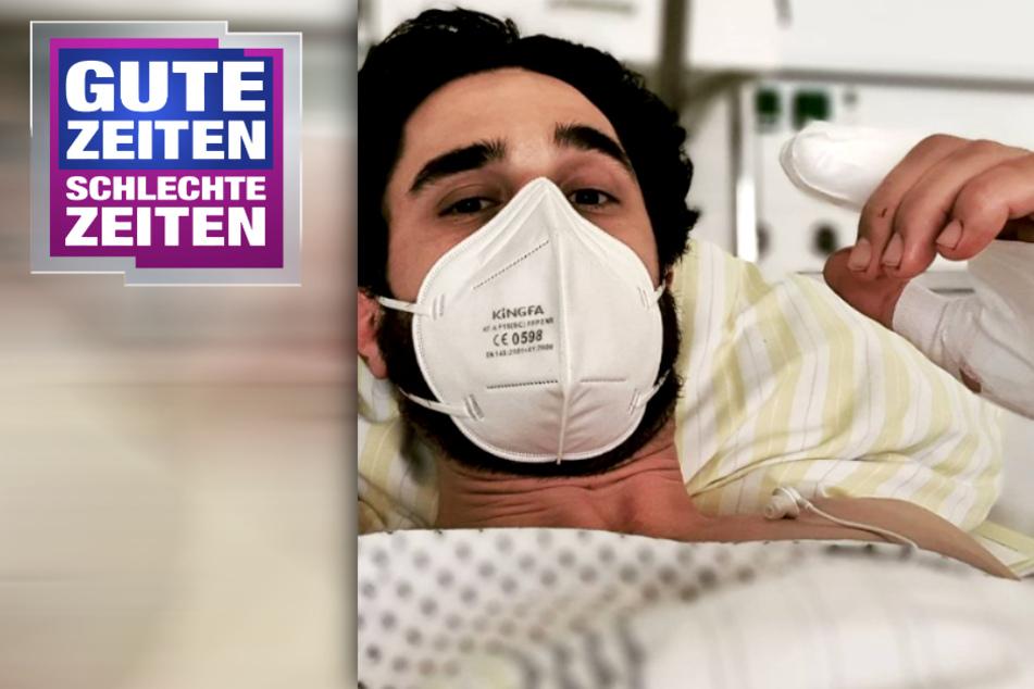 GZSZ: Fans und Kollegen in Sorge: GZSZ-Star Jan Kittmann meldet sich aus Krankenhaus