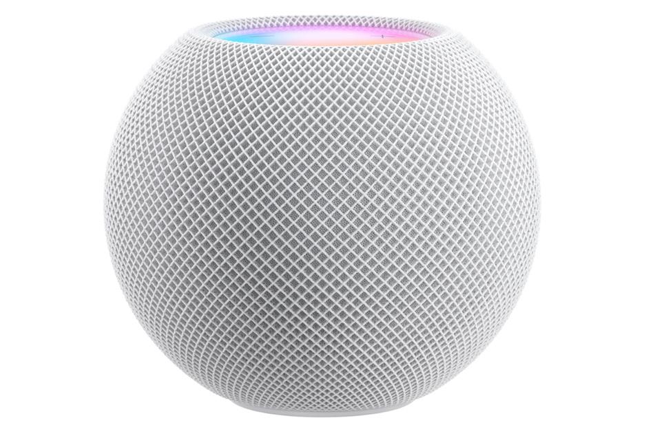 Der HomePod Mini wird nun kugelförmig.