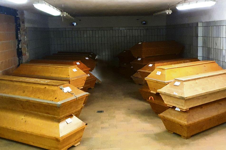 Dresden: Kühlhallen voll! Dresden weiß nicht mehr wohin mit den Corona-Leichen
