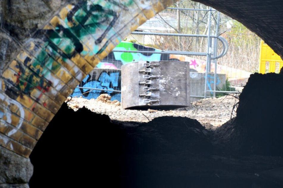 """Er diente sogar als Film-Drehort: Sächsischer """"Creepy Tunnel"""" abgerissen"""