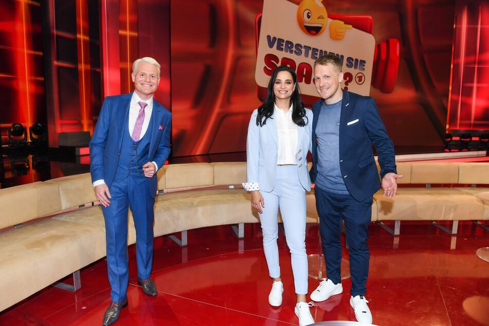 """Zu Gast bei Guido Cantz: Amira und Oliver Pocher beweisen Humor in der Show """"Verstehen Sie Spaß?"""""""