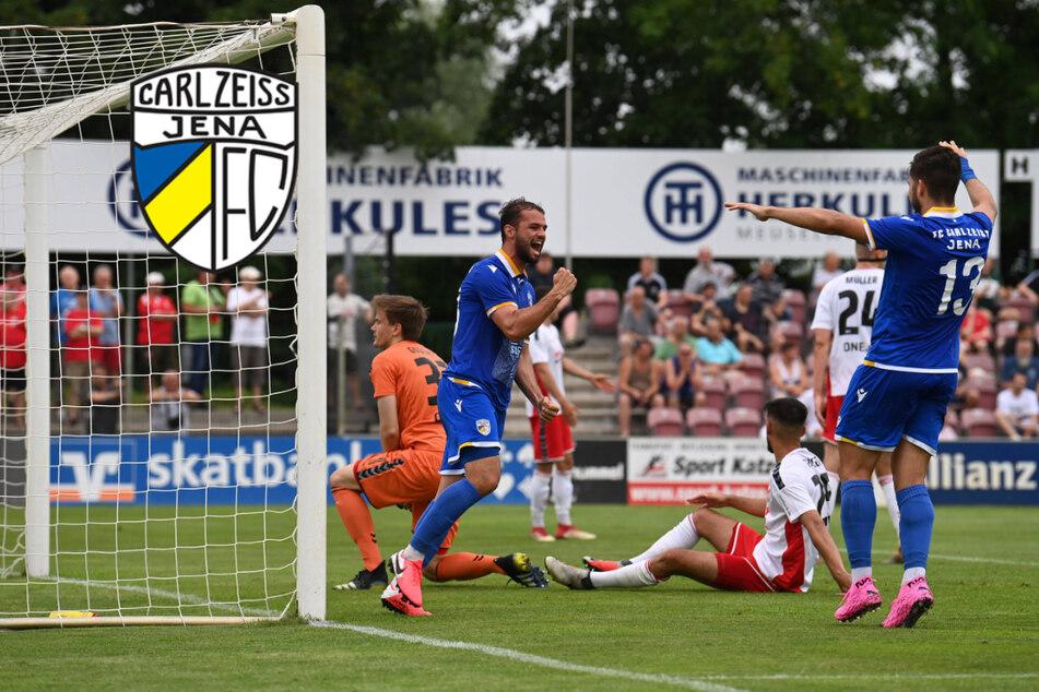 Carl Zeiss Jena lässig im Finale! Wird das Endspiel gegen Fahner Höhe ein Selbstläufer?