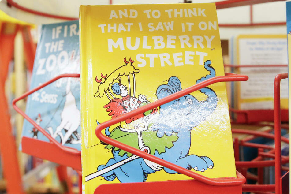 And to Think That I Saw It on Mulberry Street is one of the books that Dr. Seuss Enterprises will no longer be publishing.