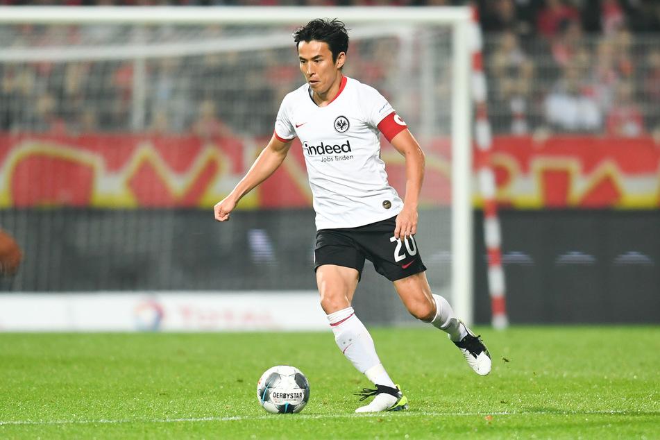 36 Jahre alt, aber kein bisschen müde: Eintracht Frankfurts Makoto Hasebe ist ein wahrer Dauerbrenner.