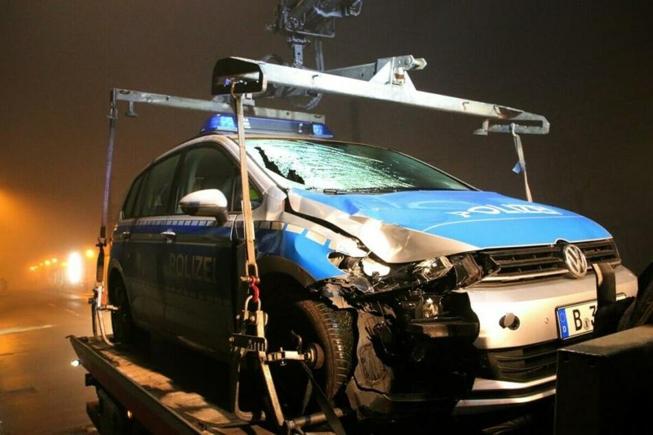 Vor einem Monat wurde ein Mann in Marzahn von einem Polizeiauto erfasst und getötet.