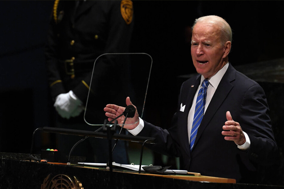 Biden vows to defeat Covid-19 and climate change in debut speech at UN General Assembly