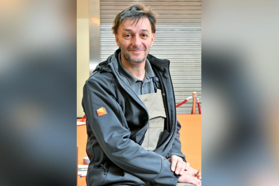 Jan Eckoldt (52), Geschäftsführer des Fachverbandes Tischler Sachsen.