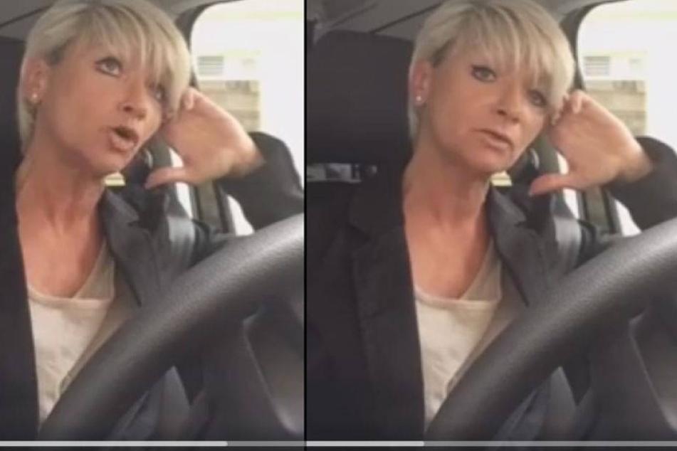 Frau nimmt direkt nach Überfall dieses Video auf