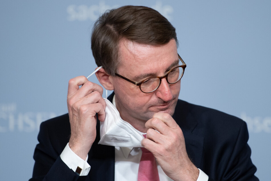 Sachsens Innenminister Roland Wöller (50, CDU).