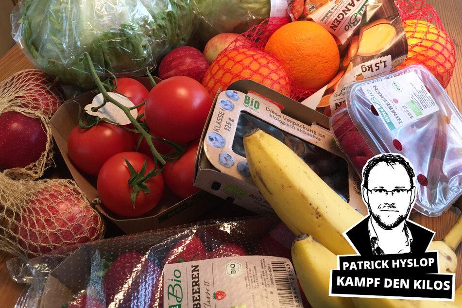 Obst und Gemüse statt Süßkram: Im Kampf gegen die Corona-Kilos geht's an die Ernährung