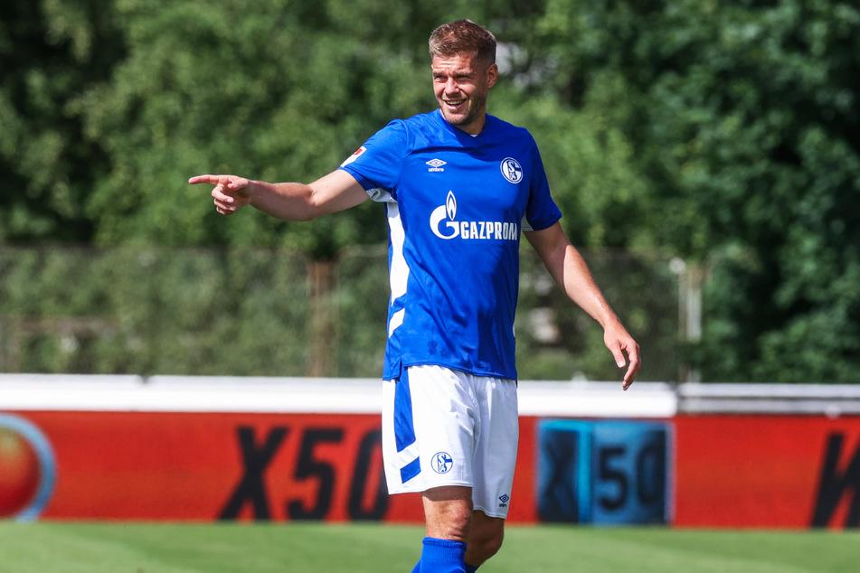 Schießt er den FC Schalke 04 zum Aufstieg: Mit Simon Terodde (33) haben die Knappen einen Stürmer mit eingebauter Torgarantie geholt.