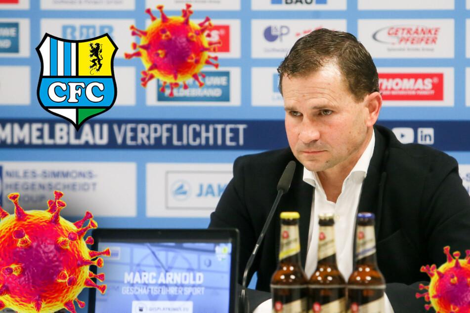 Corona-Alarm beim CFC: Testspiel gegen Braunschweig abgesagt