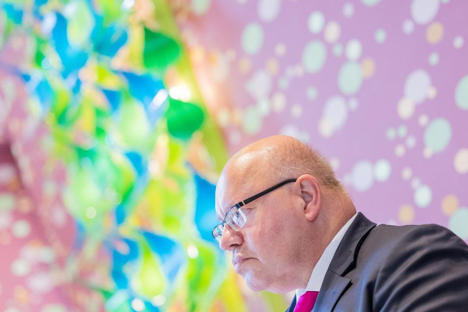 Peter Altmaier (63, CDU) bei der Wirtschaftsministerkonferenz.