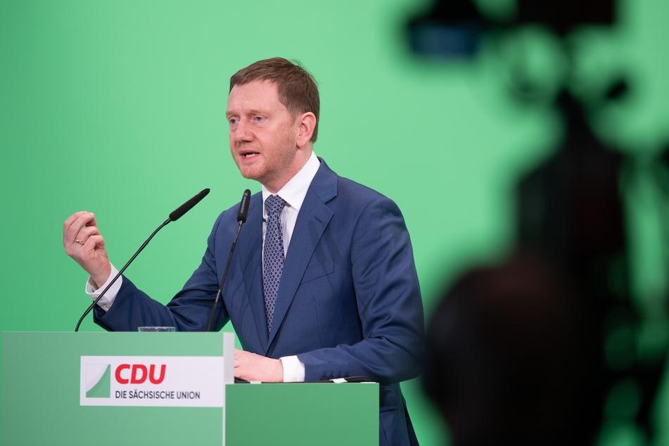 Ministerpräsident Michael Kretschmer (45, CDU). Er möchte einen Schub bei den Impfzahlen in Sachsen.