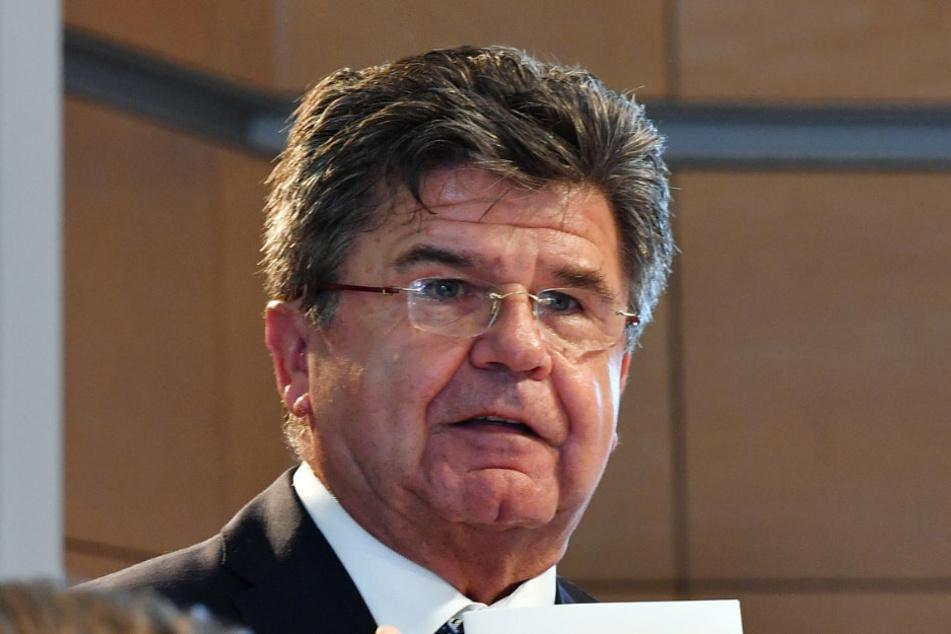 Michael Brychcy (CDU), Präsident des Gemeinde- und Städtebundes.