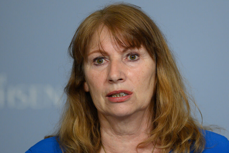 Sachsens Sozialministerin Petra Köpping (63, SPD).