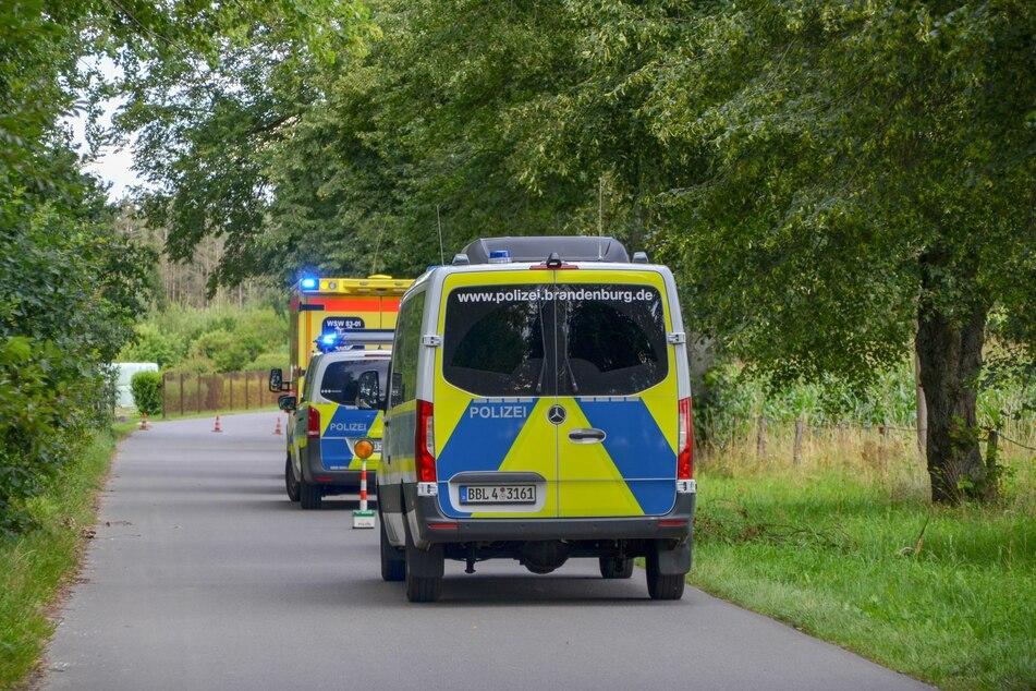 Polizei, Krankenwagen und sogar ein Rettungshubschrauber waren im Einsatz.