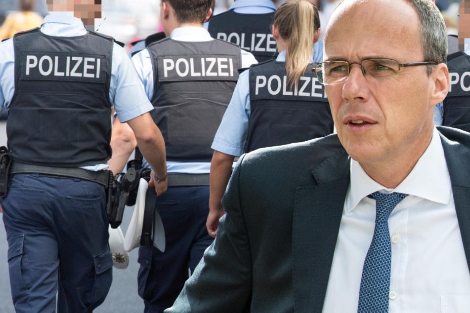 """Attacken gegen Polizei und Feuerwehr: Dieser Innenminister fordert """"Knast"""" als Strafe"""