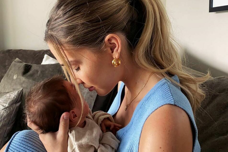 Ann-Kathrin Götze (30) ist vor wenigen Wochen zum ersten Mal Mutter geworden.