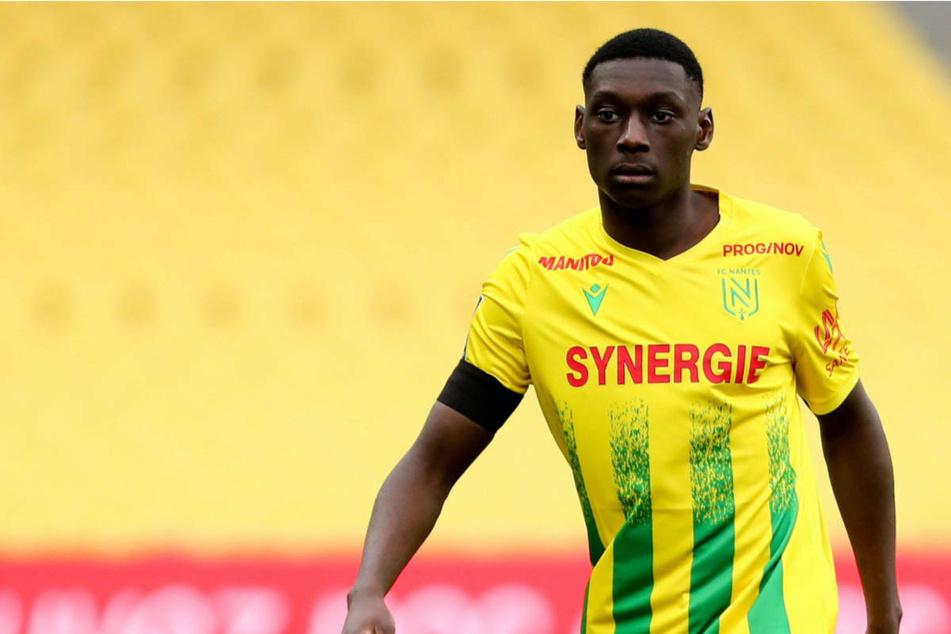 In dieser Saison schaffte Randal Kolo Muani (22) den Sprung in die erste Mannschaft des FC Nantes in der französischen Ligue 1.
