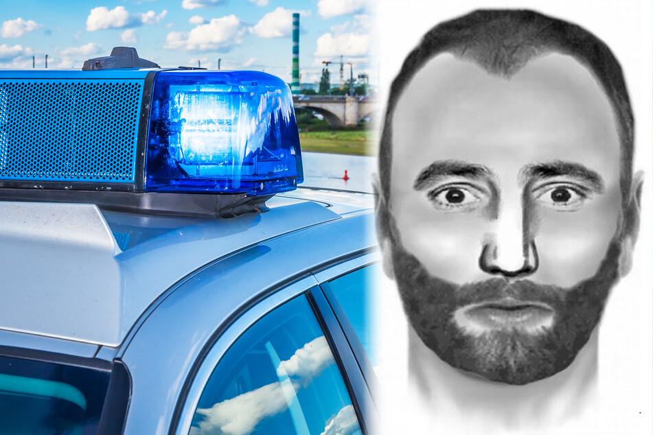 Frau in Dresden sexuell bedrängt: Wer diesen Mann sieht, soll sofort die Polizei rufen!