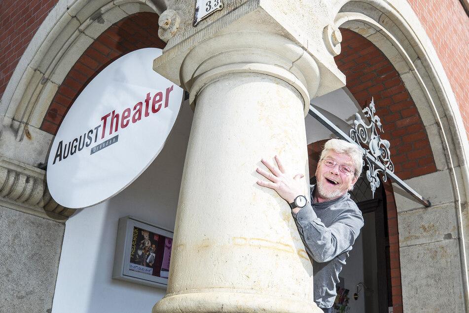 Grigorij Kästner-Kubsch (64) will mit seinem August Theater am angestammten Platz in Pieschen bleiben.
