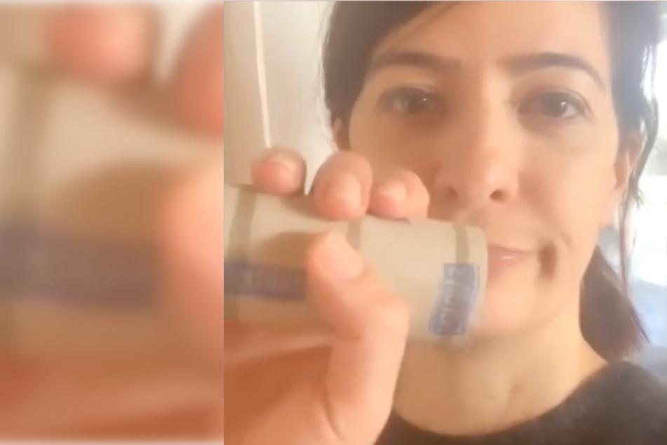 Tagesschau-Sprecherin Linda Zervakis verrät, was Ihr mit leeren Klopapier-Rollen machen könnt!