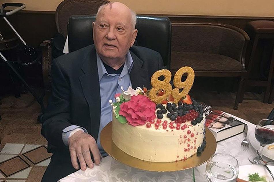 Der russische Politiker Michail Gorbatschow (89) feierte im März seinen 89. Geburtstag.