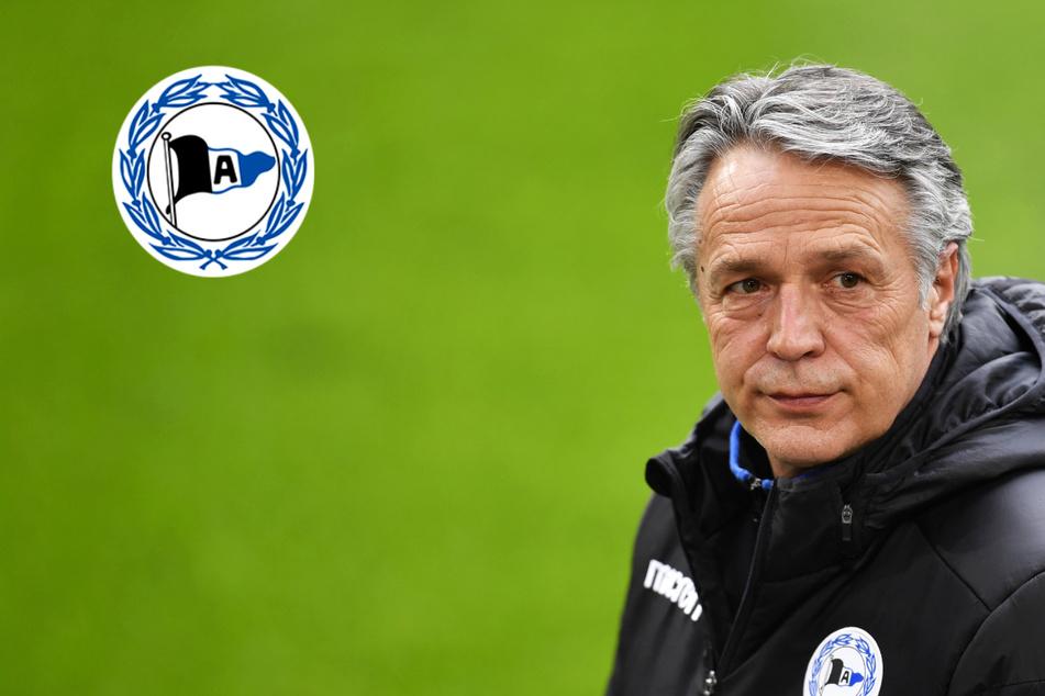 Trainer Uwe Neuhaus steht bei Arminia Bielefeld offenbar vor dem Aus!