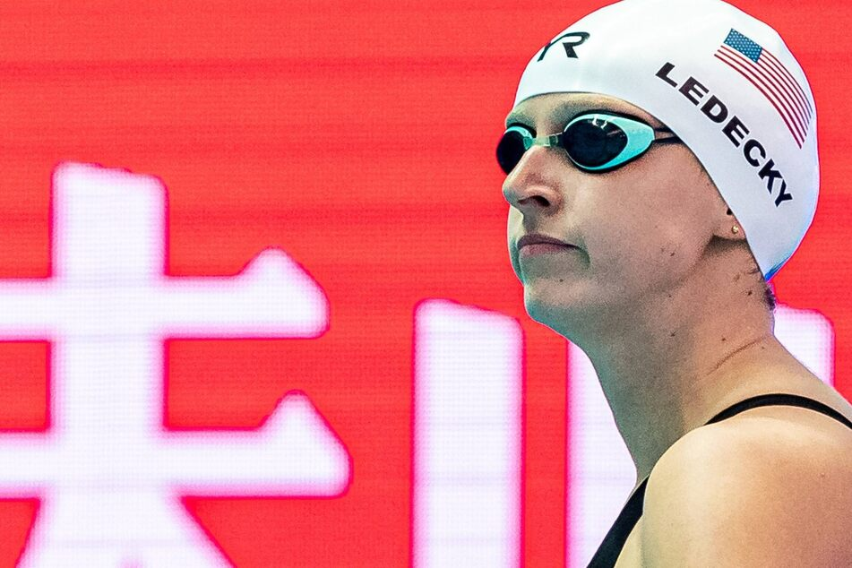 Olympics: Katie Ledecky gets the silver after coming up short in the women's 400-meter freestyle